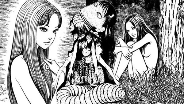 Manga nhật bản kinh dị - Tomie (Ito Junji)