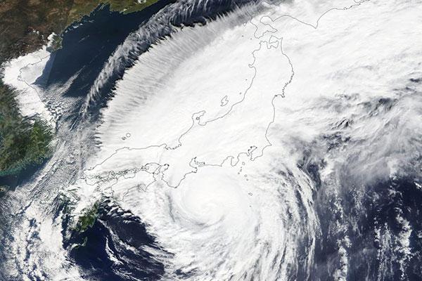 bão ở nhật bản