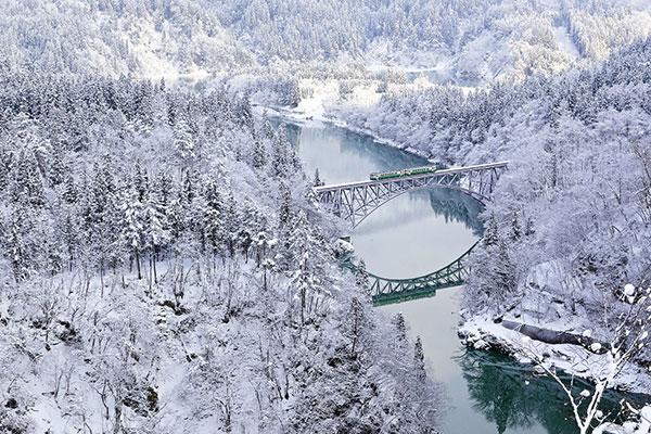Cảnh đẹp Nhật Bản mùa đông