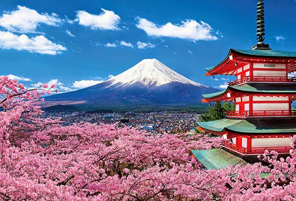 Cảnh đẹp 4 mùa Núi Phú Sĩ