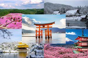 Cảnh đẹp Nhật Bản và những địa danh Checkin ấn tượng
