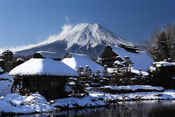 Núi phú sĩ mùa đông