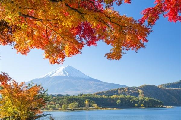 núi phú sĩ mùa thu