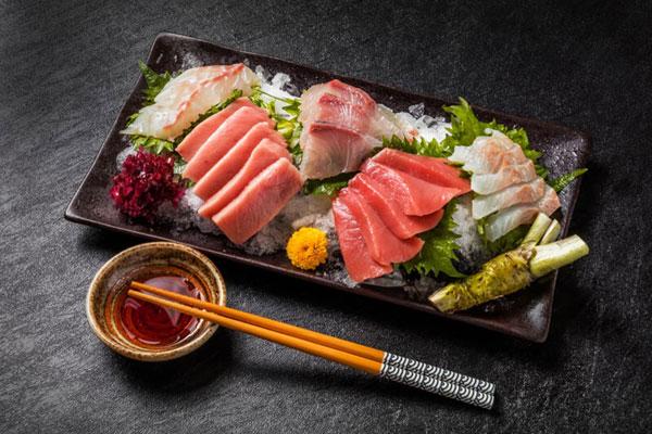 sashimi là gì