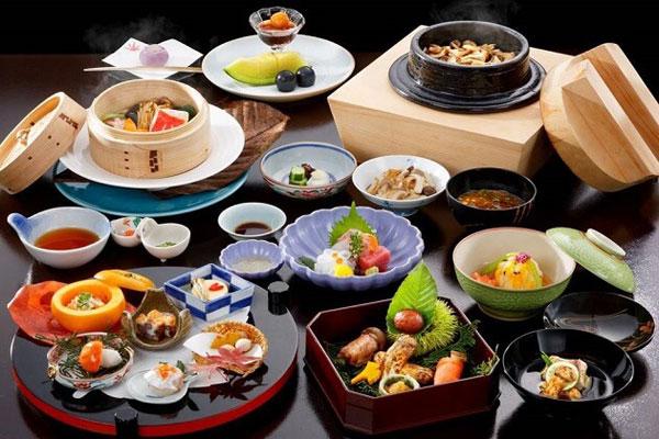 Ẩm thực Nhật Bản đa dạng
