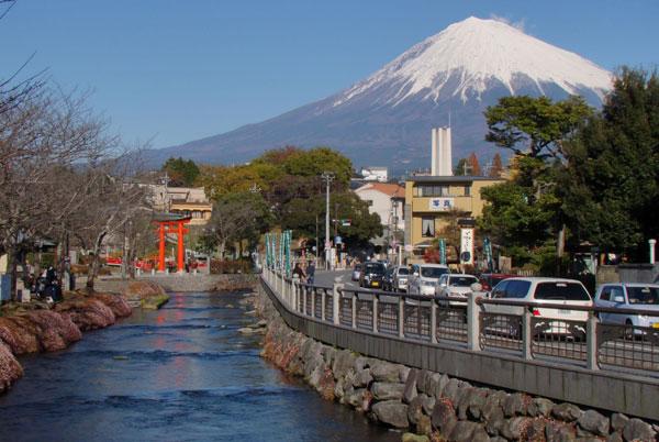 Tỉnh Shizuoka Nhật Bản là điểm đến du lịch hấp dẫn