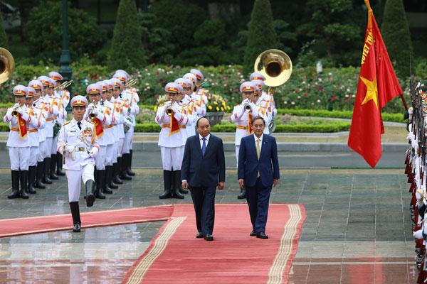 Thủ tướng Nhật thăm Việt Nam