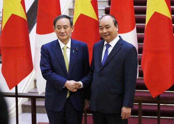 Hai nước Việt Nam –Nhật Bản ký kết 12 văn kiện hợp tác