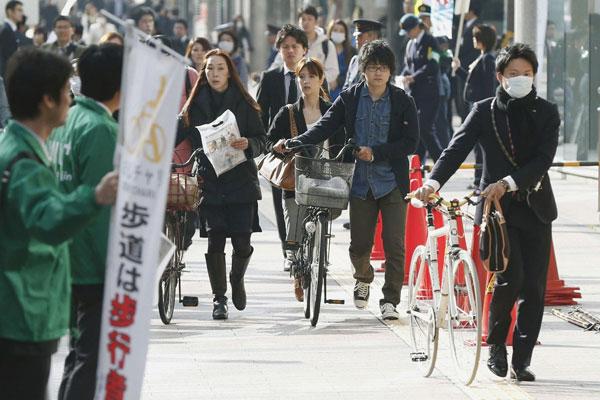 tại sao người nhật lại thích đi xe đạp
