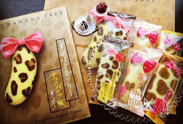 Đi Nhật Bản nên mua gì? Bánh Tokyo Banana