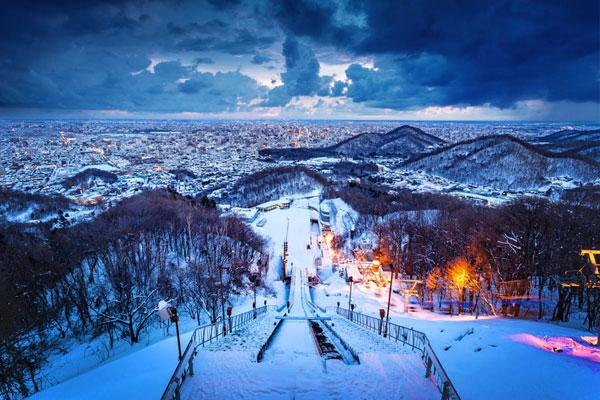 Vùng Hokkaido Nhật Bản