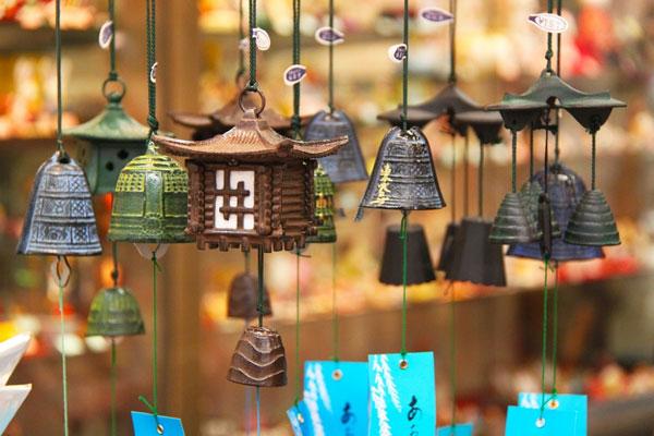 Ý nghĩa phong thủy của chuông gió Nhật Bản