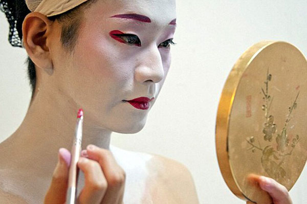 Geisha ban đầu là nam giới