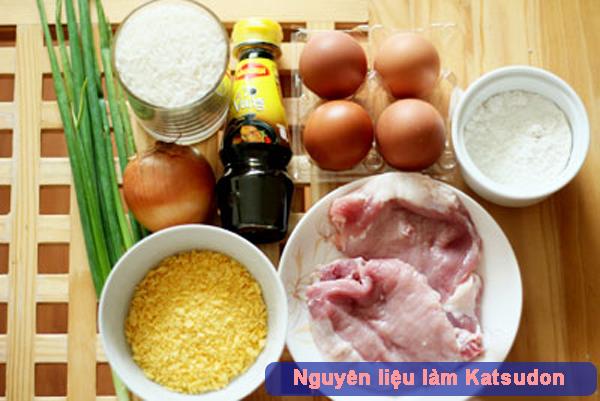 Cách làm Katsudon