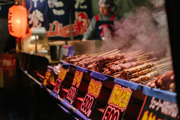 thưởng thức gà nướng Yakitori tại nhật bản