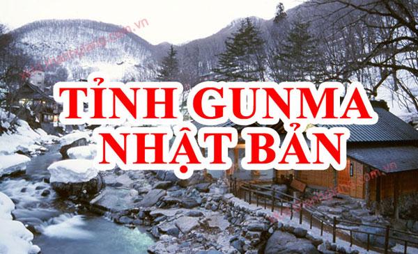 tỉnh Gunma Nhật Bản