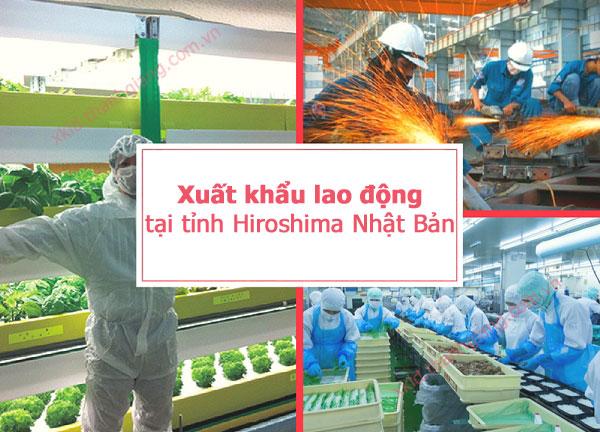 Xuất khẩu lao động tại tỉnh Hiroshima Nhật Bản