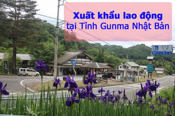 Đi xuất khẩu lao động tại tỉnh Gunma Nhật Bản