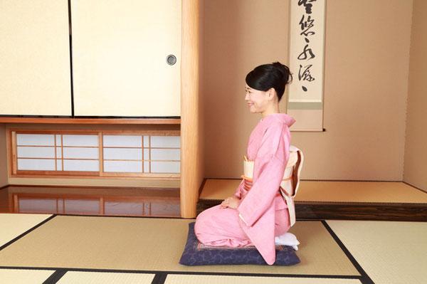 Văn hóa ứng xử trong phòng trải chiếu Tatami kiểu Nhật