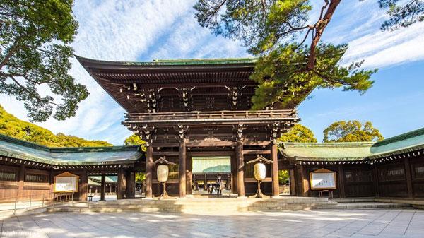 đền thờ Thiên hoàng Minh Trị