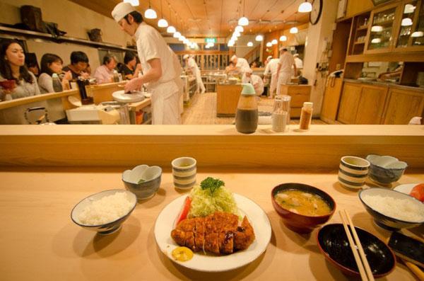 thưởng thức món Tonkatsu Nhật Bản ở đâu