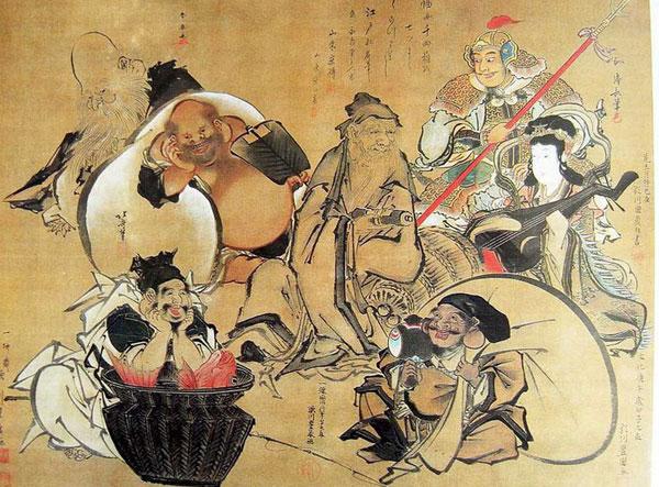 Thất Phúc Thần - 7 vị thần trong thần thoại Nhật Bản