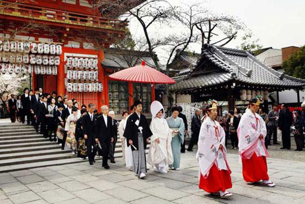 đám cưới truyền thống tại Nhật Bản