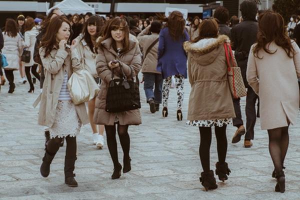 Trang phục Nhật mùa đông