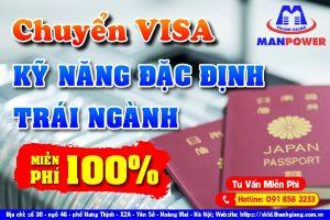 Chuyển Visa Kỹ Năng Đặc Định trái ngành Miễn Phí