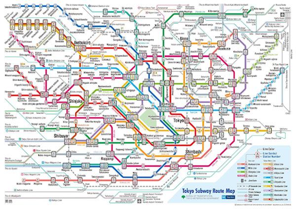 Bản đồ tàu điện