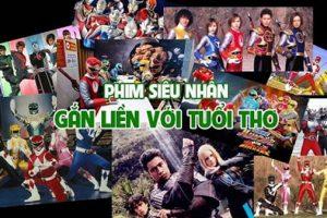 TOP 8 Phim siêu nhân Nhật Bản kinh điển của tuổi thơ