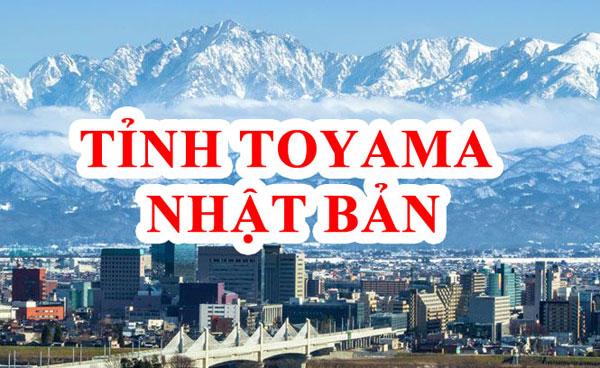 Tỉnh Toyama Nhật Bản