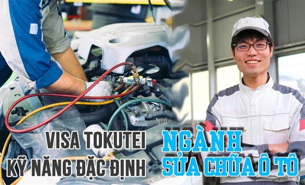 Tokutei Sửa chữa – Bảo dưỡng ô tô