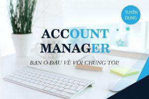 ĐƠN TUYỂN NS TRONG NƯỚC (Account Manager) – VNG22