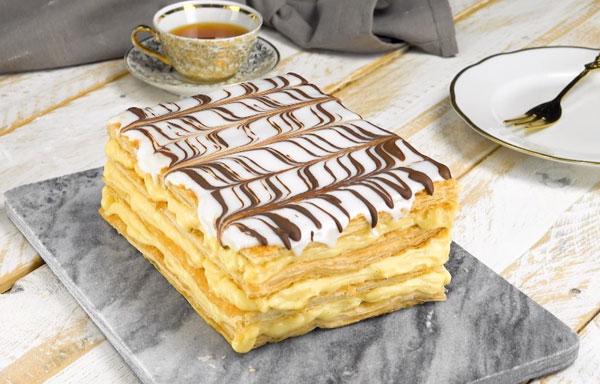 Bánh ngàn lá Mille-feuille