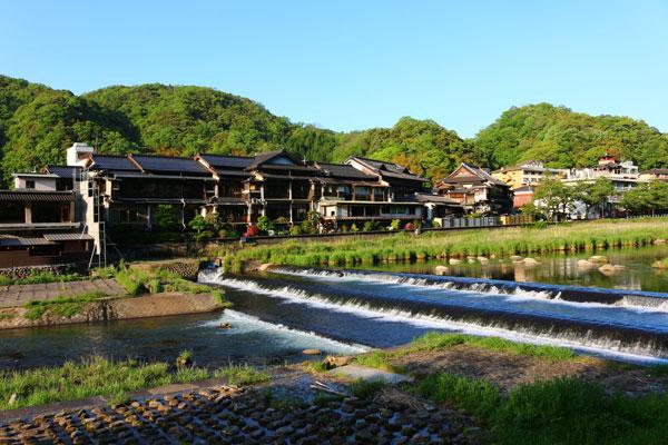 Suối nước nóng Misasa Onsen
