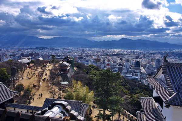 Thành phố Matsuyama tỉnh ehime