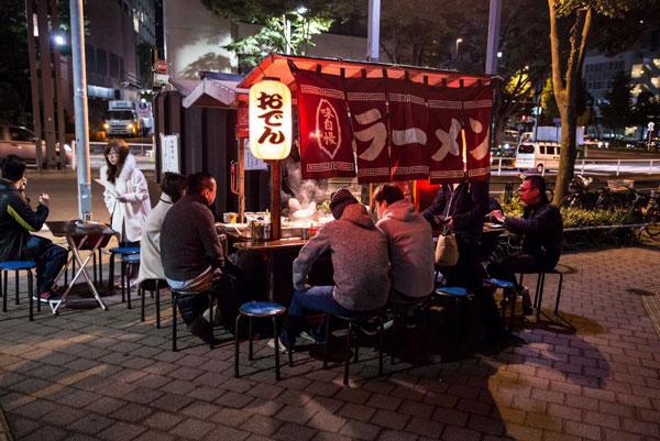 Quầy ăn Yatai tỉnh fukuoka