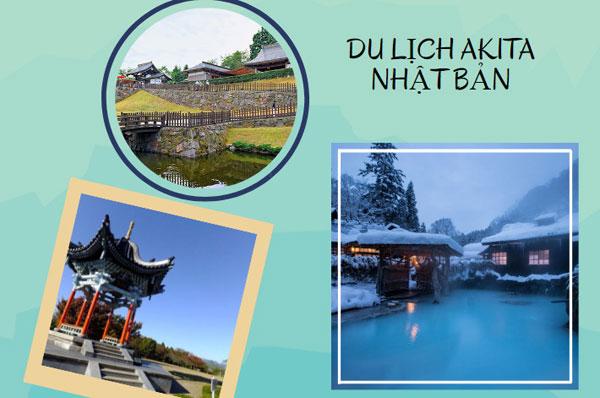 Du lịch tỉnh Akita Nhật Bản