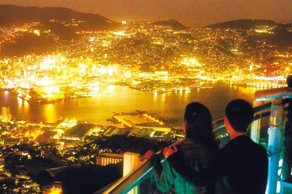 Ngắm cảnh đêm Nagasaki