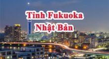"""Tỉnh Fukuoka Nhật Bản – """"Thủ phủ yên bình của vùng Kyushu"""""""