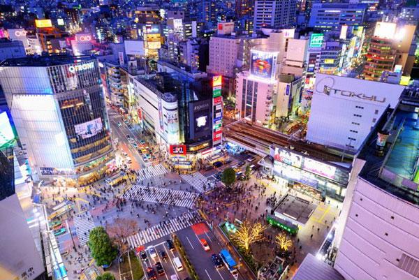 Khu vui chơi nổi tiếng Tokyo
