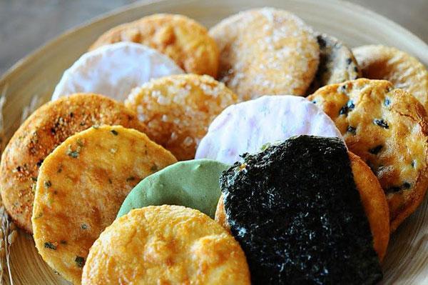 Bánh quy Nambu senbei