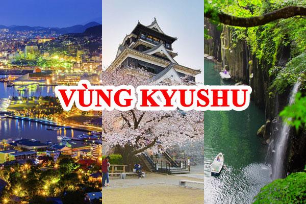 vùng Kyushu Nhật Bản