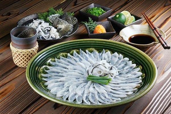 Cá nóc tỉnh Yamaguchi - ẩm thực chugoku