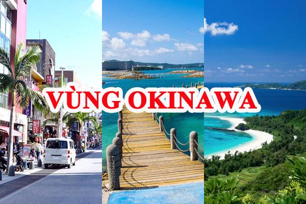 vùng Okinawa Nhật Bản