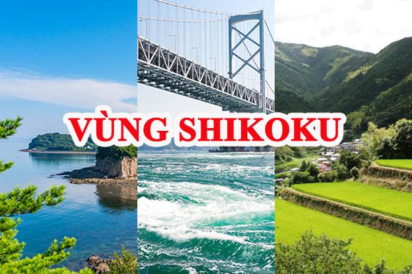 Vùng Shikoku Nhật Bản
