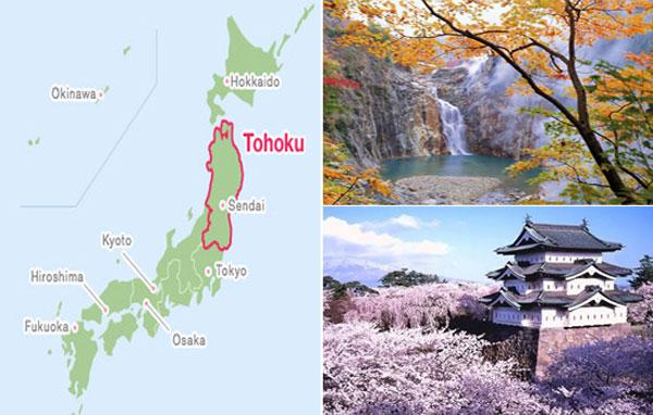 XKLĐ vùng Tohoku Nhật Bản