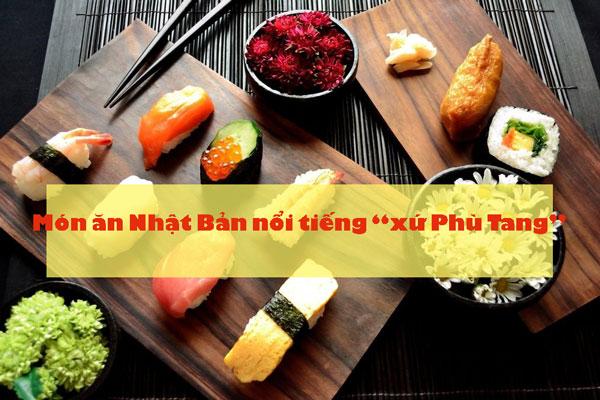 List món ăn Nhật Bản